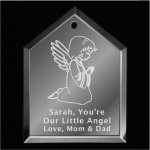 Angel Christmas Ornament Mirror Christmas Ornaments | House