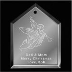 Angel Christmas Ornament 2 Mirror Christmas Ornaments | House