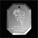 Candy Cane Christmas Ornament Mirror Christmas Ornaments | Octogon