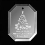 Christmas Tree Ornament Mirror Christmas Ornaments | Octogon