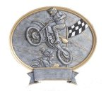 Legend Motocross Oval Award Motocross Trophies