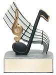 Color Tek Music Award Music Trophies