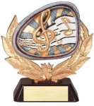 Stamford Resin Music Music Trophies