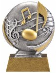 Music 3D Motion Trophy Music