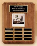 American Walnut Photo Perpetual Plaque Photo Plaques