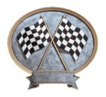 Legend Racing Oval Award Pinewood Derby Trophies