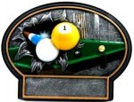 Burst Thru Billiards Trophy Pool / Billiards