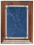 Presidential Blue Heritage Walnut Plaque Recognition Plaques