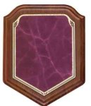 Shield Rose Heritage Walnut Plaque Recognition Plaques