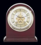 Plymouth Rosewood Piano Finish Desktop Clock Rosewood clocks