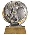 Soccer 3D Motion Trophy (Male) Soccer Trophies