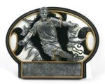 Burst Thru Soccer Trophy (Male) Soccer Trophies