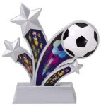 Soccer Holographic Rising Star Soccer Trophies