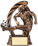 Action Soccer Trophy (Female) Soccer Trophies
