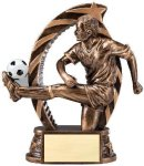 Action Soccer Trophy (Male) Soccer Trophies