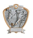 Signature Series Soccer Shield Awards Soccer Trophies