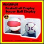 UV Protected Soccer Ball Display Soccer