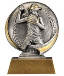 Softball 3D Motion Trophy (Female) Softball Trophies