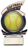 Gold Star Softball Award Softball Trophies