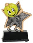 Little Pals Softball Trophy Softball Trophies