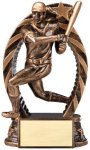 Action Softball Trophy Softball Trophies