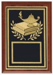 Lamp Of Knowledge Plaque Sports Plaques