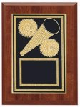 Cheerleading Plaque Sports Plaques
