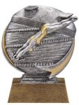 Swimming 3D Motion Trophy (Female) Swimming Trophies