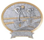 Legend Swimming Oval Award Swimming