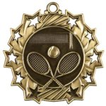 Ten Star Tennis Medal Tennis Medals