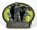 Burst Thru Tennis Trophy (Male) Tennis Trophies
