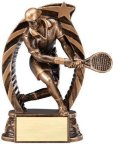 Action Tennis Trophy (Male) Tennis Trophies
