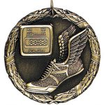 Wreath Medal - Track Track Medals