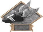 Track - Diamond Plate Resin Trophy Track Trophies