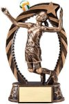 Action Volleyball Trophy (Female) Volleyball Trophies