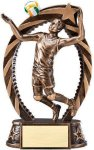 Action Volleyball Trophy (Male) Volleyball