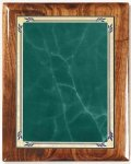 Walnut Gloss Plaque - Green Heritage Walnut Plaques