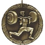 Weight Lifting Weight Lifing Medals