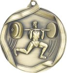 Ribbon Weight Lifting Medal Weight Lifing
