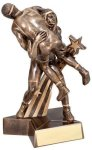Wrestling Super Star Trophy (Male) Wrestling Trophies