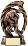 Action Wrestling Trophy (Male) Wrestling Trophies