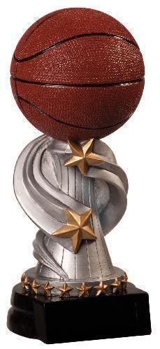 Basketball Encore Resin Trophy Basketball Trophies